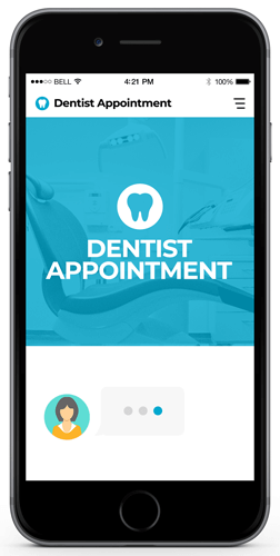 Chatbot Appointment Examples (Dentist)