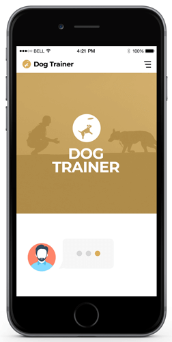 Dog Trainer Chatbot Examples