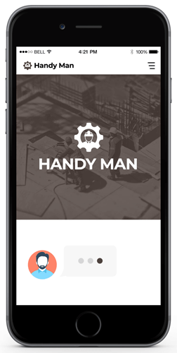 Handyman - Best Chatbot Examples