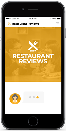 Chatbot In Restaurant Reviews